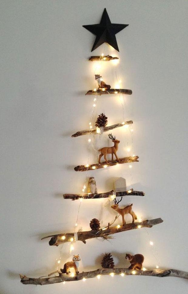 120 manualidades creativas navide as arbolitos de navidad - Arboles de navidad diferentes ...