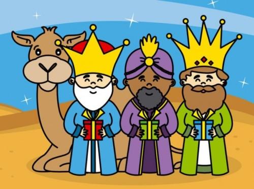 3 Reyes Magos Cartitas Mensajes Dibujos Gifs Láminas Imágenes