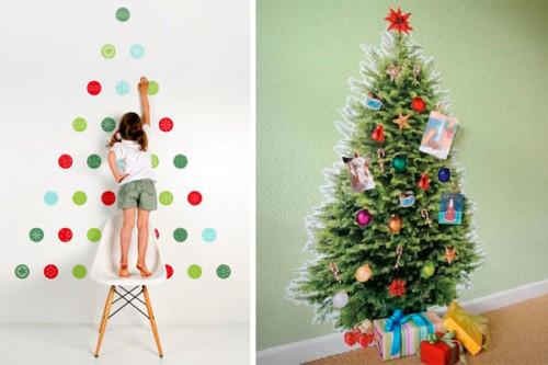 120 manualidades creativas navide as arbolitos de navidad - Arboles de navidad de diferentes materiales ...