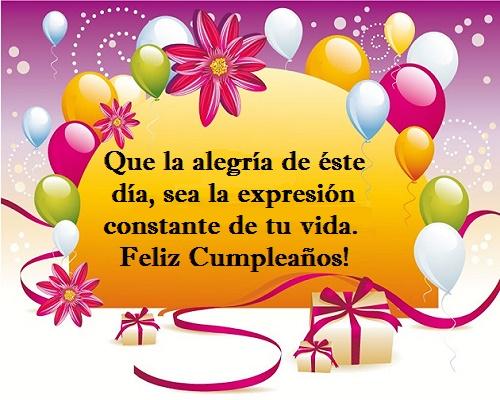 Tarjetas Con Felicitaciones Y Mensajes De Cumpleaños Para