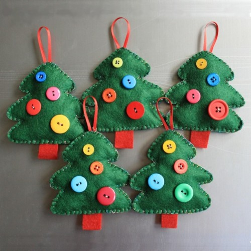 Manualidades Para Regalar A Ninos En Navidad.120 Manualidades Creativas Navidenas Arbolitos De Navidad