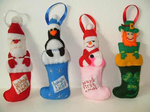 120 Manualidades Creativas Navidenas Arbolitos De Navidad - Manualidades-faciles-de-navidad-para-regalar