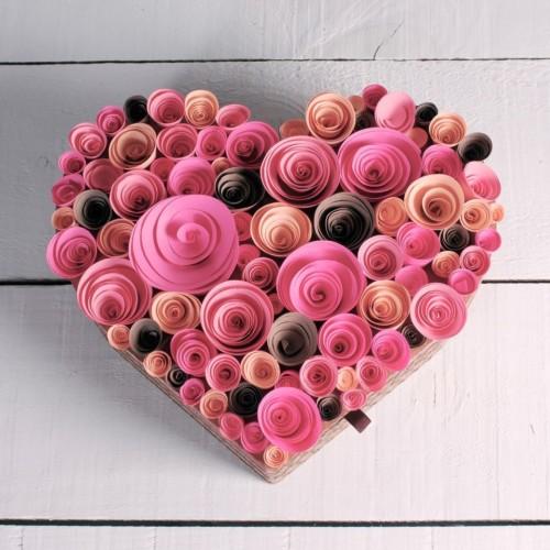 44 manualidades de amor para san valentin tarjetas - Como hacer tarjetas para regalar ...