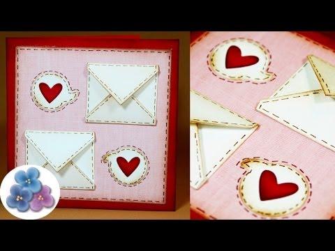 Tarjetas De Amor Y Artesanias Romanticas Para San Valentin