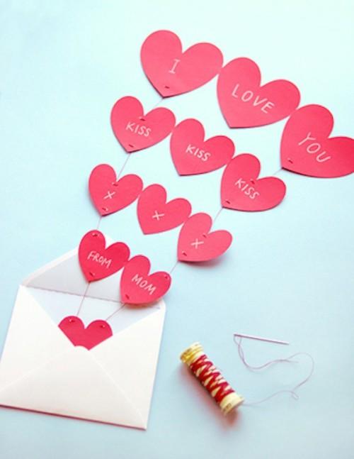 44 Manualidades De Amor Para San Valentin Tarjetas