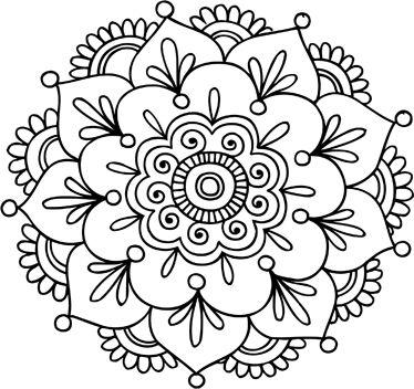 69 Imagenes Para Colorear De Mandalas Originales - Mandalas-sin-pintar