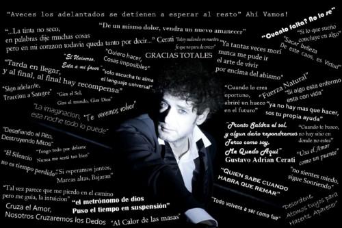 Imágenes Con Frases De Canciones De Gustavo Cerati