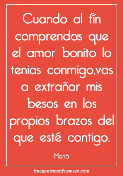 Imagenes De Amor Con Frases Romanticas De Canciones De Amor