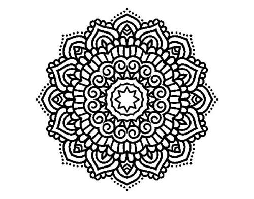 Mandala Mujer Para Colorear: 69 Imágenes Para Colorear De Mandalas Originales