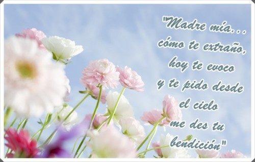Imagenes De Te Extrano Mama Y Frases Para Una Mama Fallecida En