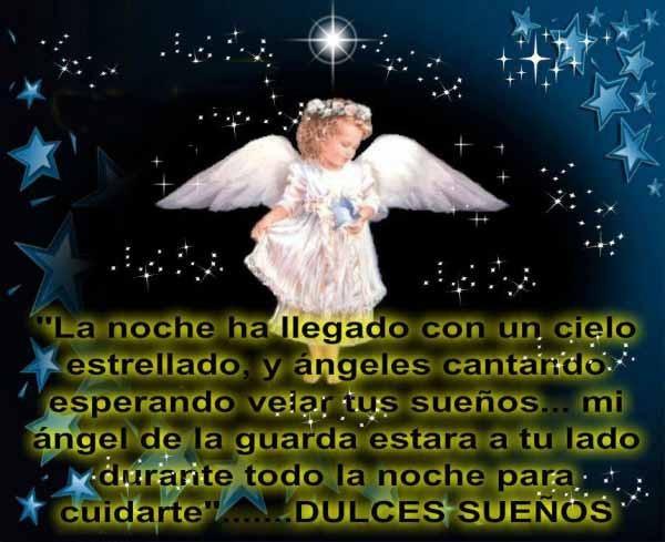 Imágenes De ángeles Con Frases Y Pensamientos Bonitos Para Imprimir
