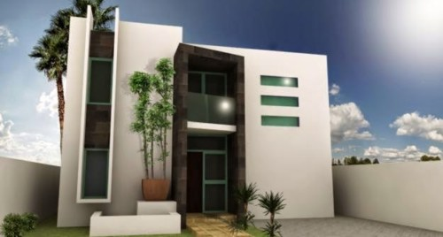 85 im genes de fachadas de casas lindas modernas y sencillas - Colores de fachadas modernas ...