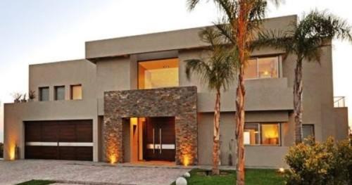 85 im genes de fachadas de casas lindas modernas y sencillas for Frentes de casas con piedras