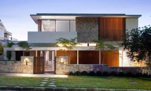 fotos de fachadas de casas sencillas en venezuela Casa Moderna Sencilla Affordable Fachadas De Casas Modernas
