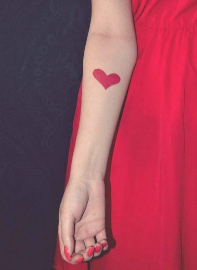 dise u00f1os e ideas de tatuajes de coraz u00f3n para mujeres