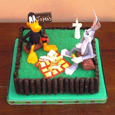 Im genes de decoraci n de tortas para cumplea os for Como decorar una torta infantil