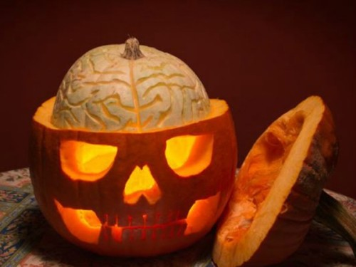 Decoracion y comidas para halloween - Decoracion calabazas para halloween ...