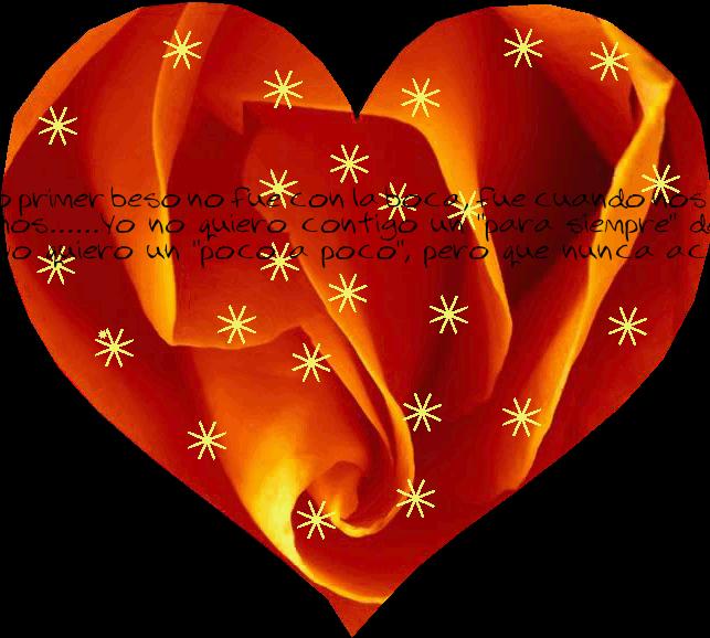 Amor es un sentimiento profundo.....