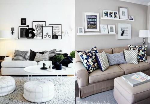 45 im genes con ideas de decoraci n para dormitorio - Que cuadros poner en el salon ...
