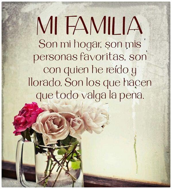 Imágenes Con Frases Bonitas Del Amor De Familia