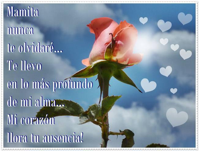 Frasesamor Frases De Amor Para Mi Mama Que Esta En El Cielo