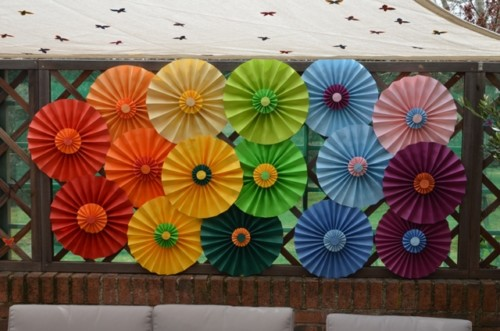 Ideas para decorar la fiesta de la primavera - Decorar la pared del salon ...