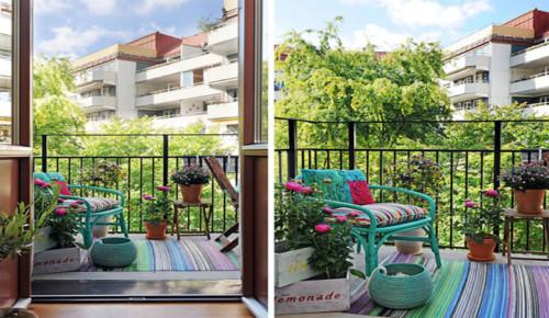 Ideas nuevas y modernas para decorar el balc n for Mesa y sillas para balcon