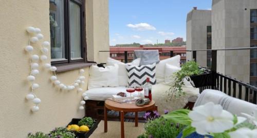 Ideas nuevas y modernas para decorar el balc n for Sillones de balcon
