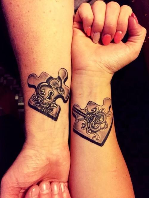 Ideas Y Diseños Originales De Tatuajes Para Parejas