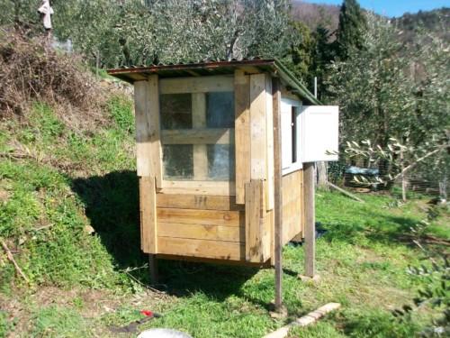 Ideas nuevas de gallineros con material reciclado for Costruire un pollaio con i pallet