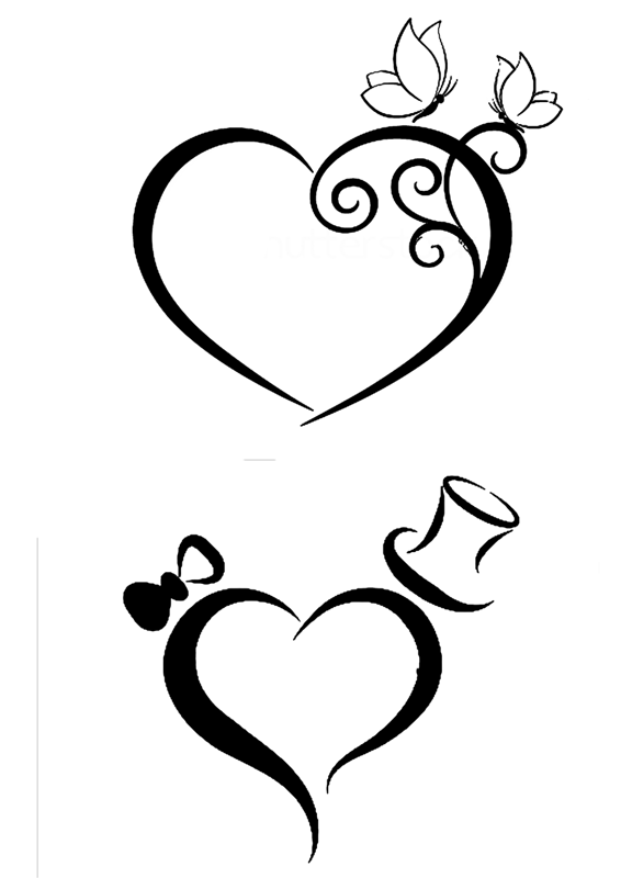 Butterfly Border Black And White Clipart further Anatomical heart likewise 232357661996794185 besides 1712289 moreover 22 Amazing Tribal Flower Tattoos. on colorful hearts to color