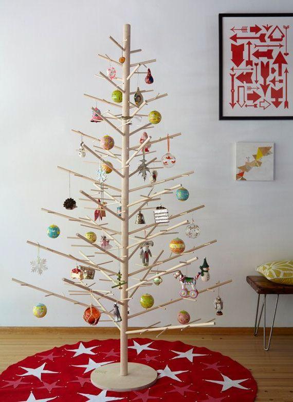 Ideas de decoracin navidea rboles de navidad originales