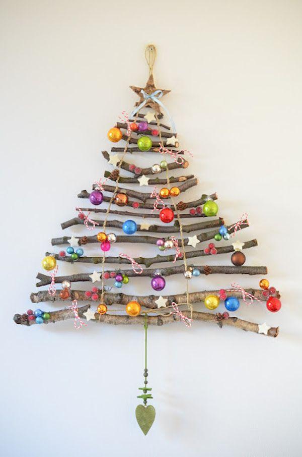 ideas de decoracin navidea rboles de navidad originales - Arboles Navidad Originales