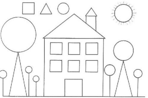 100 Figuras Geométricas Infantiles En Dibujos Para Niños