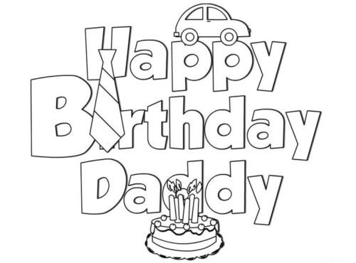 54 Tarjetas De Felíz Cumpleaños Para Pintar Y Regalar: Carteles Y Tarjetas De Feliz Cumpleaños Para Colorear