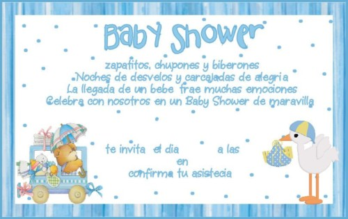 Baby Shower Invitaciones Decoración Tortas Souvenir
