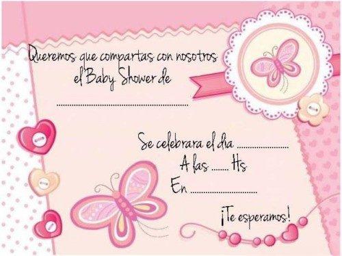 Baby Shower Invitaciones Decoración Tortas Souvenir