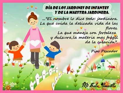 Mensajes para las maestras jardineras gracias tarjetas for El jardin del deseo pendientes