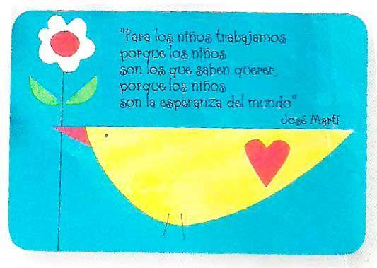 Mensajes Para Las Maestras Jardineras Gracias Tarjetas