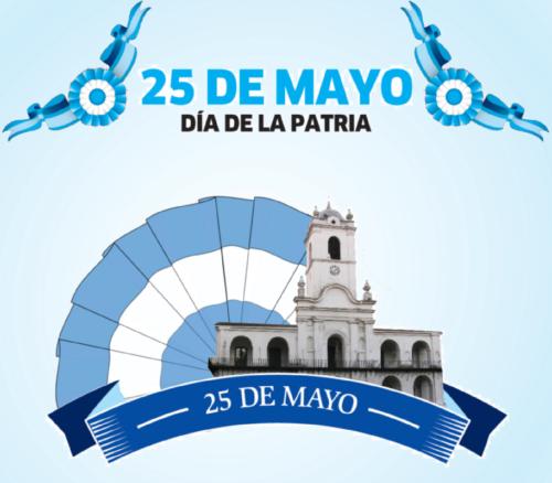 Imagenes 25 De Mayo Tarjetas Invitaciones Cabildo