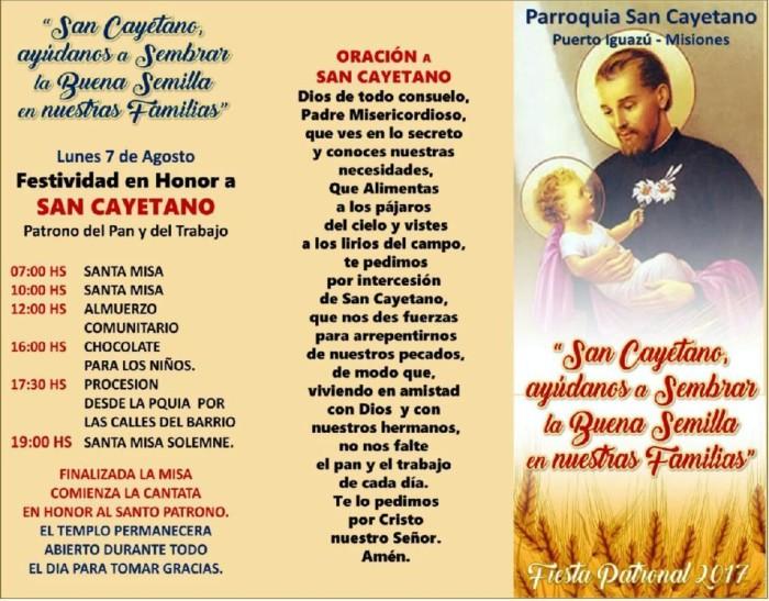 Oraciones Para San Cayetano Imágenes Para El 7 De Agosto
