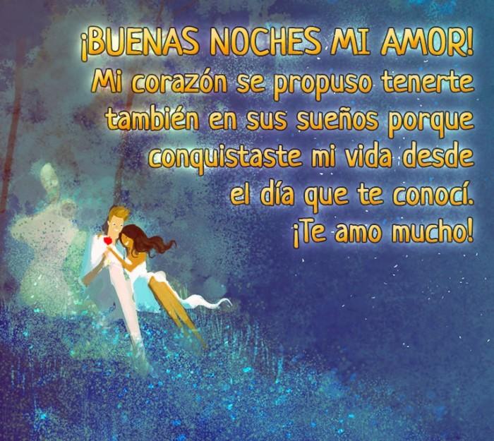 Imagenes Buenas Noches Amor Frases Romanticas