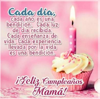 Feliz Cumpleanos Mama Frases E Imagenes