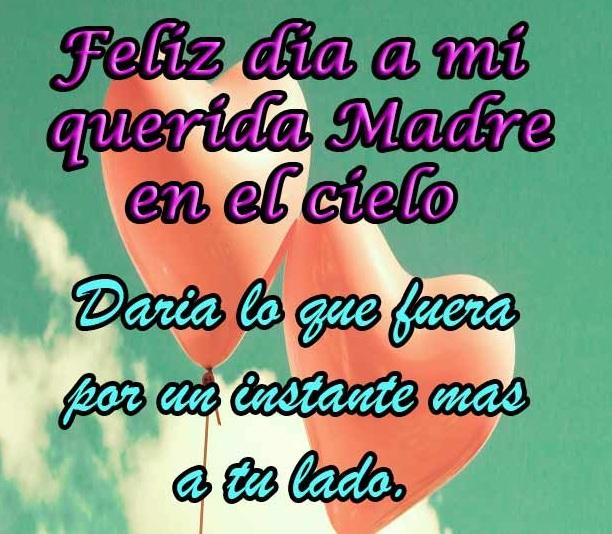 Feliz Cumpleanos Mama Ausente Feliz Día