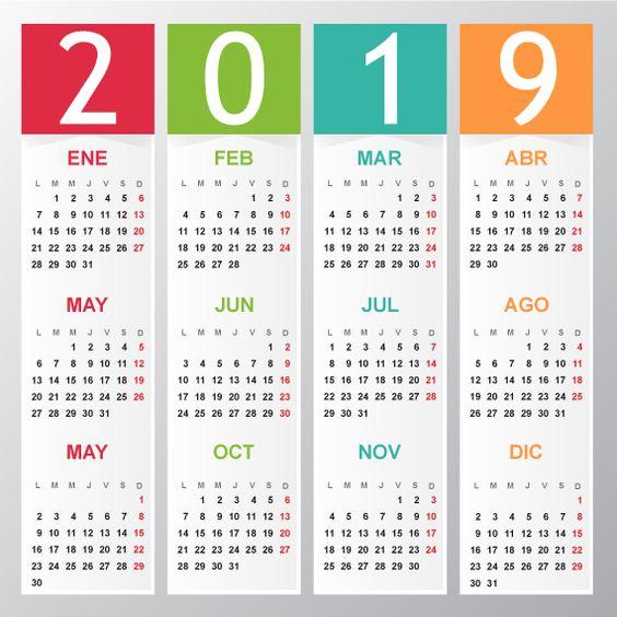 Calendario 2019 Para Imprimir Argentina.Calendarios 2019 En Imagenes Para Descargar E Imprimir