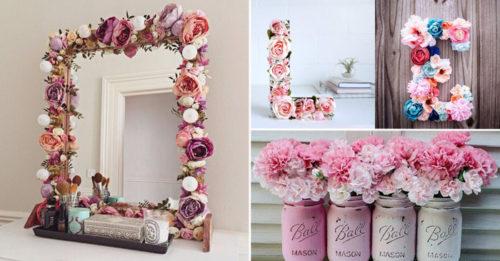 Espectaculares ideas para decorar en primavera for Decoracion del hogar facil y economico